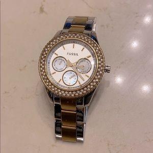 Boyfriend fossil watch